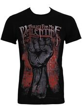 Bullet For My Valentine Riot Mens Black BFMV T-Shirt - NEW & OFFICIAL
