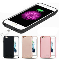 External Backup Portable Charger Battery Power Cover Case For iPhone 6 6S Plus