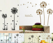 1Pc Creative Fly Dandelion Wall Decal Sticker Removable Mural PVC Home Art Decor