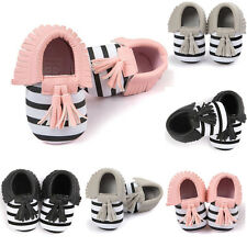 Baby Crib Soft Tassels Bowknot Leater Shoes Toddler Sneakers Casual Baby Shoes
