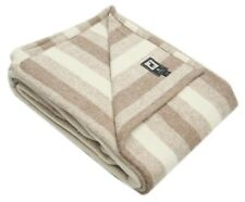 Superfine Woven Alpaca Wool Bed Blanket Queen Size 100% Natural Fiber