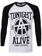 Tonight Alive Est.2008 Long Sleeved Mens Baseball T-Shirt - NEW & OFFICIAL