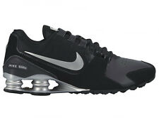 NEW MENS NIKE SHOX AVENUE RUNNING SHOES TRAINERS BLACK / METALLIC SILVER / METAL