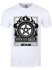 Winchester Bros Men's White T-shirt