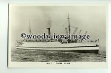 L0041 - UK Transport Liner - Empire Clyde , built 1920 ex Cameronia - postcard