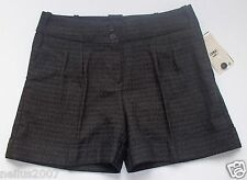 BNWT Ladies MNG Charcoal Grey Shorts Size 2 EUR 34