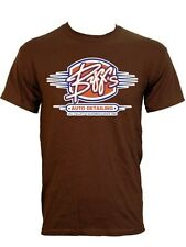 New Biff's Auto Detailing Mens Brown T-Shirt