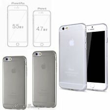 "Ultra Slim Soft TPU Silicone Gel Clear Case Cover for iPhone 6 6S Plus 4.7"" 5.5"""