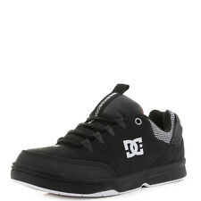 Mens Dc Shoes Syntax SN Black White Red Casual Skate Trainers Size