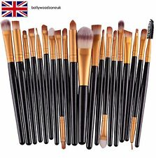 20 pcs set Makeup Brush Set tools Make up Toiletry Kit Wool Make Up Brush