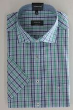 ETERNA short sleeve shirt Comfort Fit Selectable Size green checkered