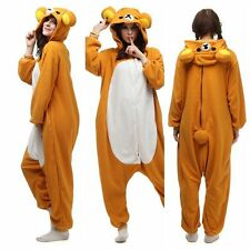 Cartoon Adult Pajamas Kigurumi Cosplay Costume Animal Onesie Sleepwear Easily be