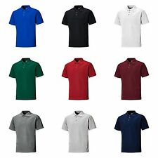 Dickies Mens Short Sleeve Button Polo Shirt