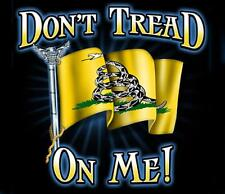 Don't Tread On Me T-shirt Tea Party Gadsden Flag US Navy Marine Corps USMC