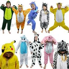 HOT CHILDRENS ANIMAL ZOO ONESIE KIDS PYJAMA FANCY DRESS COSTUME ONESIES KIGURUMI
