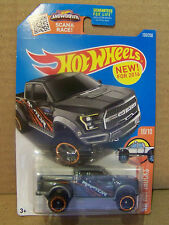 HOT WHEELS HW HOT TRUCKS, '17 FORD F-150 RAPTOR IN GRAY  PAINT #10/10 OR 150/250