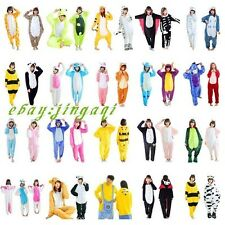 Hot Unisex Adult Pajamas Kigurumi Cosplay Costume Animal Onesie Sleepwear Suita!