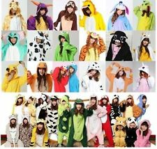 90kinds Unisex Adult Pajamas Kigurumi Cosplay Costume Animal Onesie SleepwearHot