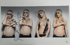 Taryn Manning Signed Autograph 11x17 Photograph Sexy Topless 8 Mile GA