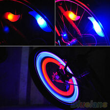 Safety Bike Bicycle Cycling Car Wheel Tire Tyre LED Spoke Light Lamp Striking