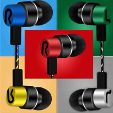 3.5mm With Mic Extra Bass Music In Ear Stereo Headphone Headset Earphone Earbuds
