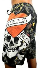NEW MEN'S PREMIUM ED HARDY CHRISTIAN AUDIGIER BOARD SHORTS TRUNKS LOVE KILLS