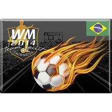 Fridge Magnet Button Labels Football world championship 2014 38953