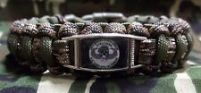U.S. Army 10th Special Forces Group BRAVO Co Paracord SURVIVAL Bracelet w Buckle