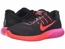 NIKE LUNARGLIDE 8 BLACK NOBLE RED CRIMSON WOMENS 2016 RUNNING SHOES ** ALL SIZES