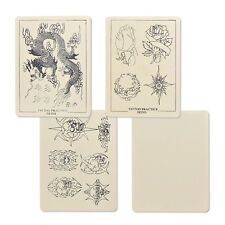 """8""""x6"""" Assorted Tattoo Practice Skin for Needle Machine Supply Mix Practice Sheet"""