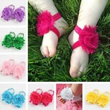 2PCS Toddler Baby Boys Girls Foot Flower Cute Kids Cloth Hair Band Accessories