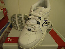 New! Womens New Balance 608 v3 Sneakers Shoes - White Blue - limited sizes