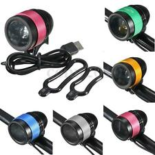 4000lm USB Rechargeable Cycling Bike Bicycle LED Front Head Rear Light Headlamp