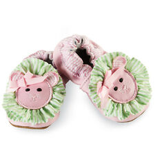 Mud Pie Baby PINK LION SHOES 176154 Pretty In Pink Collection Leather