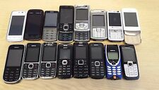 JOB LOT OF WORKING/NON-WORKING/FAULTY NOKIA MOBILE PHONES, VARIOUS x 16