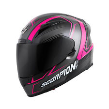 Scorpion EXO-R2000 Launch Full Face Helmet  Pink/Silver