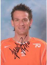 Vennegoor of Hesselink Hand-Signed Holland Photo AFTAL COA Netherlands Football