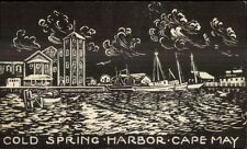 Cold Spring Harbor Cape May NJ Postcard