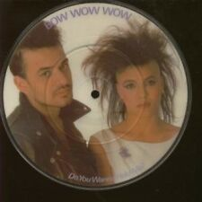 """BOW WOW WOW Do You Wanna Hold Me 7"""" VINYL Pic Disc B/w What's The Time"""