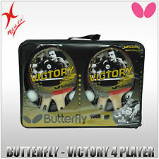 BUTTERFLY TABLE TENNIS BLADE / BAT - VICTORY 4 PLAYER SET -  SET TO CHOOSE