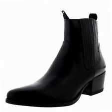 Womens Vagabond Mandy Leather Black Work Casual Pointed Toe Ankle Boots UK 3.5-8