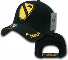 RapDom 1st Cavalry The Legend Military Mens Cap [Adjustable - Black]