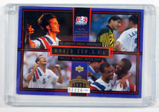 1993 Upper Deck World Cup U.S.A. National Soccer Team Oversized Promo Card /5000