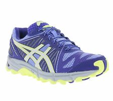 NEW asics Gel-Fuji Trabuco 2 Women's Shoes Running Sports Shoes Blue T3J7N 3593
