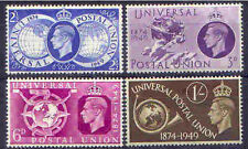 Great Britain 1949 UPU Set (4) Hinged Mint, SG 499-502