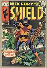 Nick Fury Agent of SHIELD (1968 1st Series) #15 FN+ 6.5