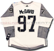 CONNOR MCDAVID TEAM NORTH AMERICA JERSEY WHITE ADIDAS 2016 WORLD CUP OF HOCKEY