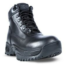 Ridge Outdoors 8003ALWP Mid Side Zip All Leather Waterproof Tactical Boots