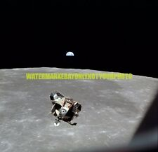 Nasa Apollo 11 Lunar Module Eagle Moon Earth Color Photo Military Space USAF