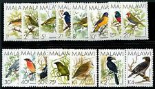 MALAWI Sc.# 518-32 Birds Stamps (15 Values)